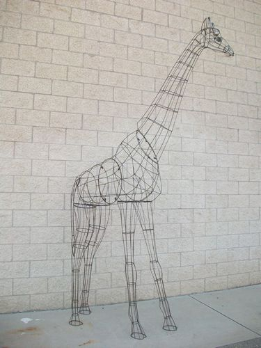 10 foot Giraffe Frame Topiary