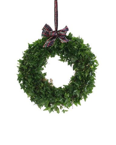 ivy hanging wreath
