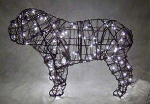 Bulldog, 16 inch (Lit) 16 inch x 25 inch x 11 inch