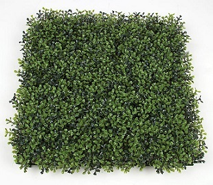 20 inch   Plastic Boxwood Mat (Tutone Green)