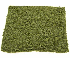 14 inch   Foam Moss Mat (Green with Brown Back)