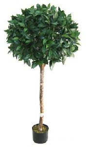 Artificial Topiary Trees, Ball Topiary, 5 feet   Bayleaf Topiary