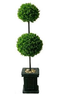 Artificial Topiary Trees, Ball Topiary, 3.5 feet   Boxwood Ball Topiary