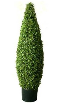 Artificial Topiary Trees, Hedge Topiary, 4 feet   Boxwood Tower