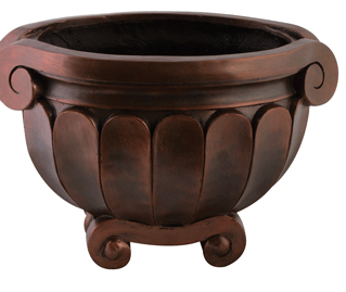 10 and 5 Inch  Grecian Centerpiece Urn