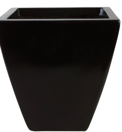 25 Inch Square Contemporary Planter