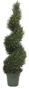 Artificial Topiary Trees, Spiral Topiary, Pond Cypress Spiral