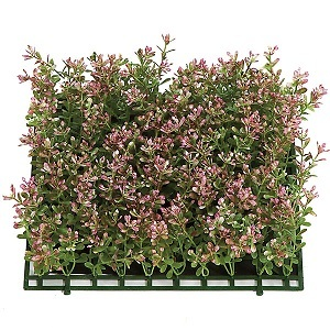 10 inch Plastic Boxwood Mat (Hot Pink)