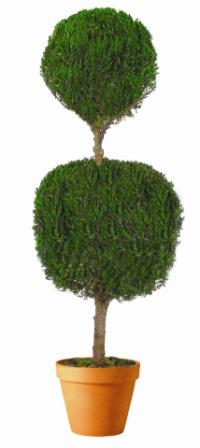 Double Ball Topiary 20""