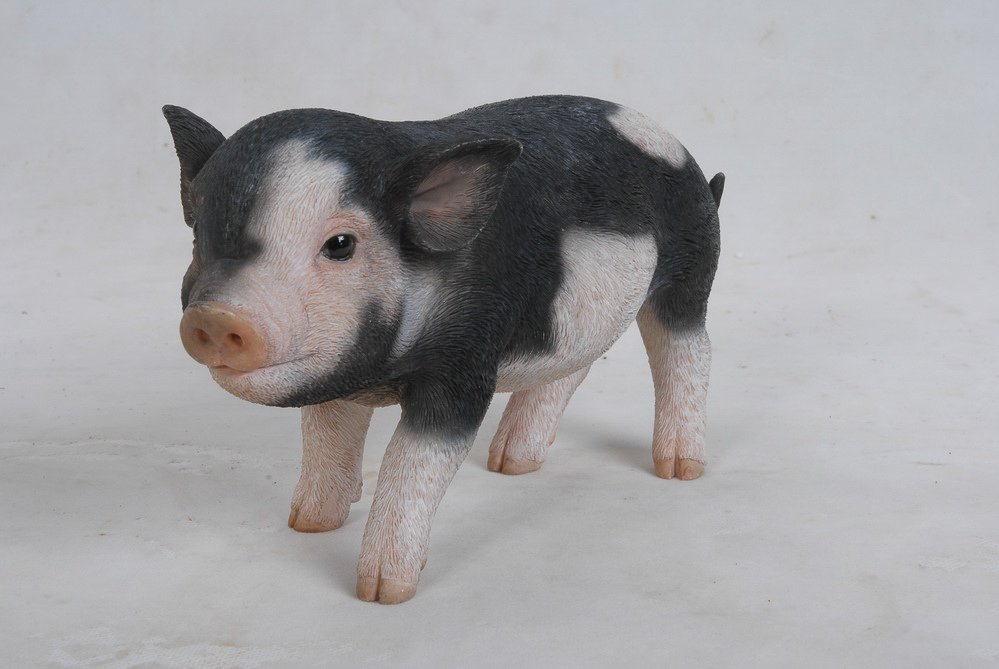 Pig Standing Baby Pig, 9 Inch x 4 Inch x 5 Inch