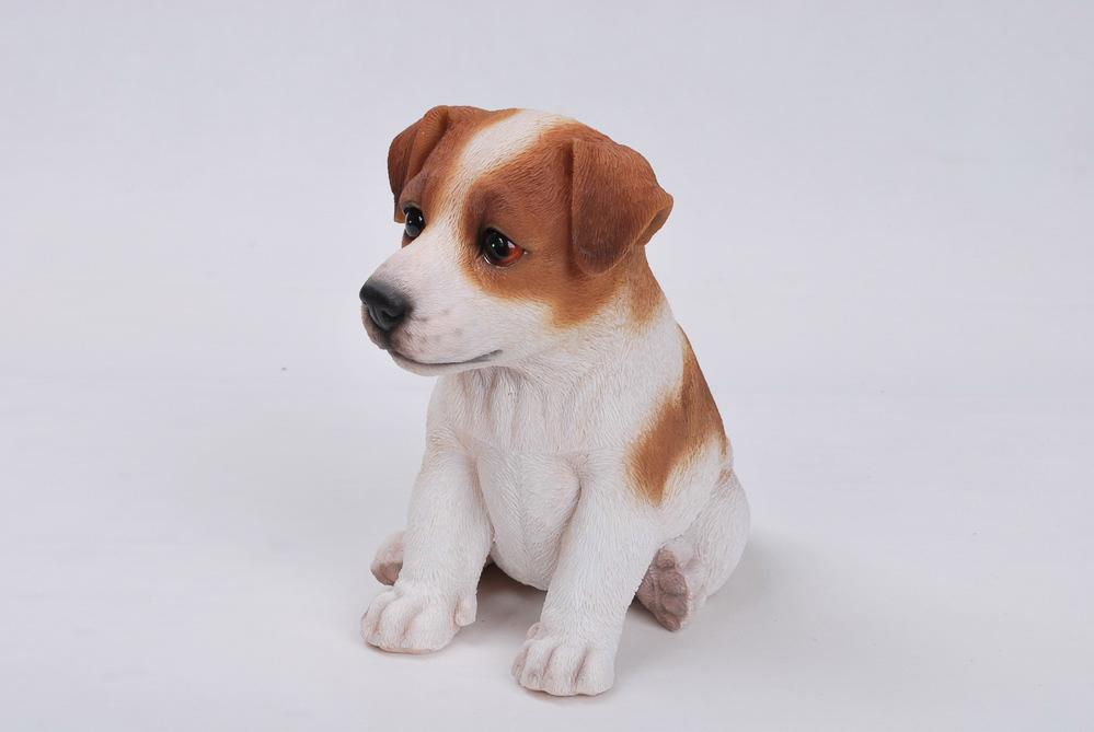 "Pet Pals Sitting Jack Russel Terrier Puppy, 6.5"" x 4.5"" x 6.5"""