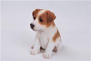 Pet Pals Sitting Jack Russel Terrier Puppy, 6 and 5 inch   x 4 and 5 inch   x 6 and 5 inch