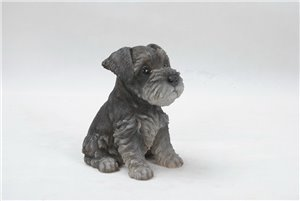 Pets Pal Sitting Schnauzer Puppy, 6 and 5 inch   x 5 inch   x 7 inch