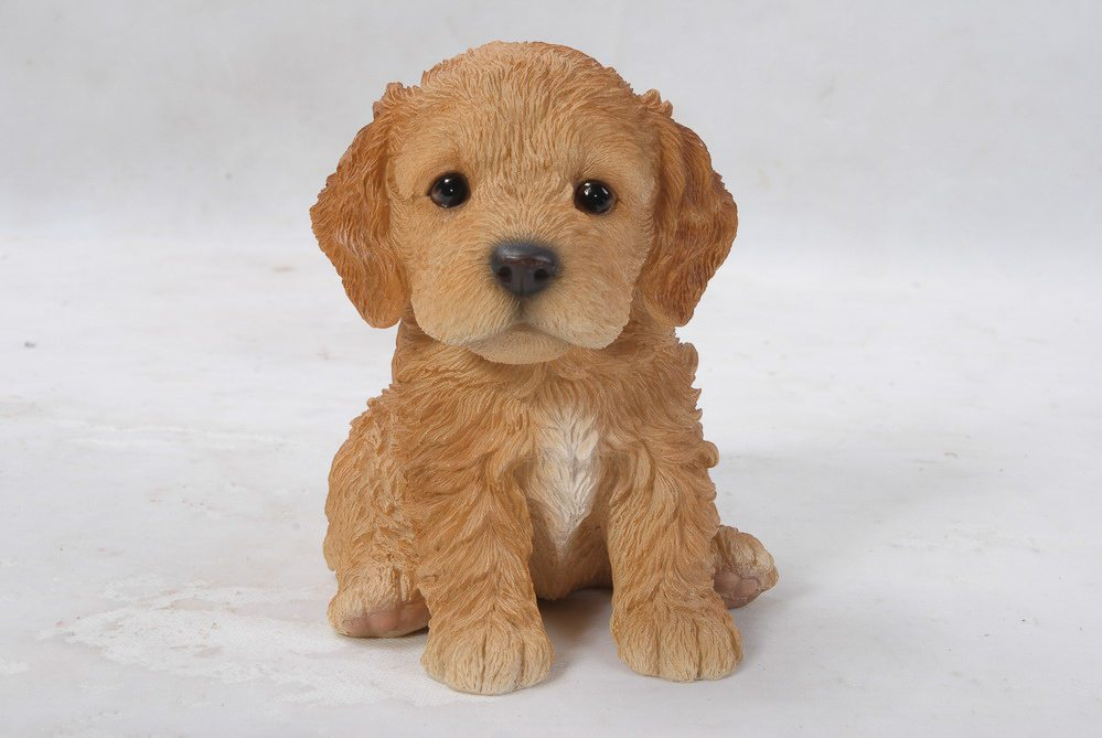 Pet Pals Sitting Cockapoo Puppy, 6 and 25 Inch x 5 Inch x 6 Inch