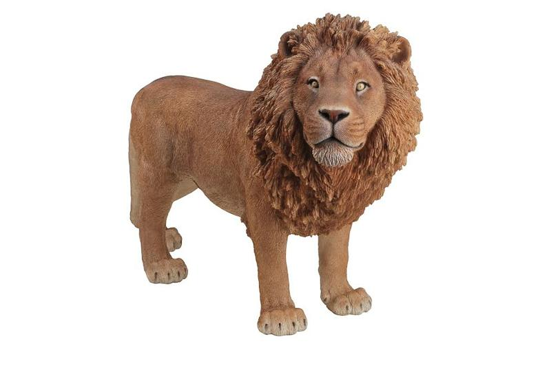 Lion Standing Large, 31 Inch x 12 and 5 Inch x 22 Inch