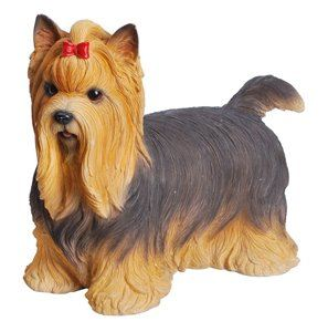 Dog Yorkshire Terrier, 12 Inch x 6 Inch x 9 and 5 Inch