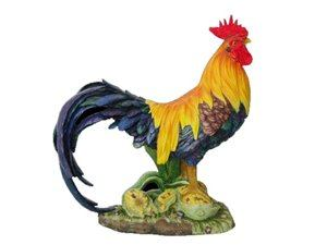 Rooster Colored Yellow And Black