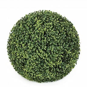 15 Inch Polyblend Plastic Boxwood Ball For (Outdoor Use)