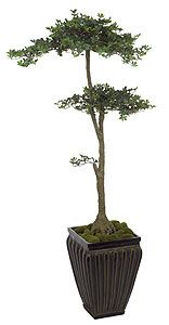 Artificial Topiary Trees, Ball Topiary, 4.5 inch Boxwood Bonsai Topiary