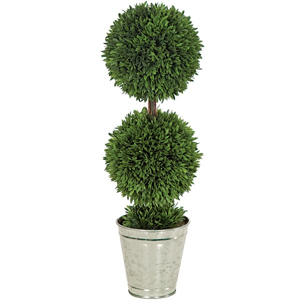 artificial topiary trees outdoor topiary 24 inch potted. Black Bedroom Furniture Sets. Home Design Ideas