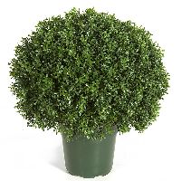Artificial Topiary Trees, Outdoor Topiary, 20 inch Tea Leaf Ball Topiary