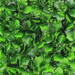 Landscape Leaves A055 Green