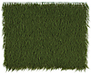 "48"" x 43"" Plastic Cypress Wall Mat - Forest Green - Limited UV Protection"