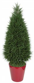 77 Inch Cypress Tower Tree   UV Resistant