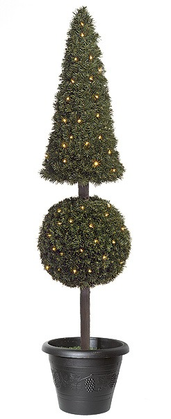 Outdoor Topiary Trees With Lights Artificial topiary trees outdoor topiary 5 feet pyramid ball pine artificial topiary trees outdoor topiary 5 feet pyramid ball pine topiary with led lights workwithnaturefo