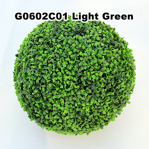 Artificial Topiary Ball C001 Light Green