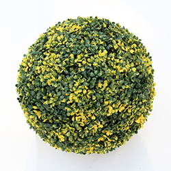 Artificial Topiary Ball C001 Yellow