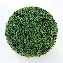 Artificial Topiary Ball C001 Dark Green