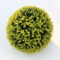 Artificial Topiary Ball C002 Yellow
