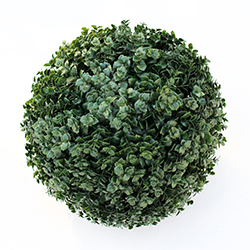 Artificial Topiary Ball C019 Dark Green