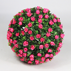 Artificial Topiary Ball C026 Light Pink