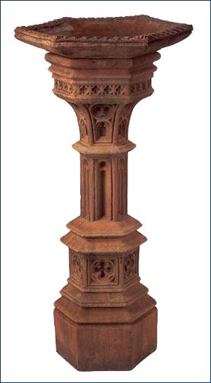 OBD04T, Shop for Large Terracotta Pedestal | TopiaryTree and NET