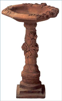OBB18T, Shop for Large Terracotta Pedestal | TopiaryTree.NET