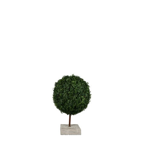 Artificial Topiary Trees, Ball Topiary, P1225b 24 inch Ball Shape Boxwood