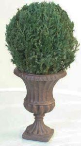 MantleTop Globe Medium in Juniper Foliage