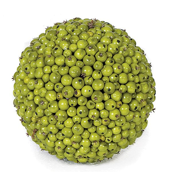 7 Inch Green Berry Ball