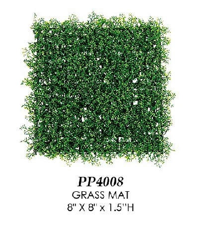 Artificial Topiary Trees, Topiary Wall, Grass Mat 8