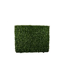 Artificial Topiary Trees, Hedge Topiary, PP4036DFHG 2 Metal Frame Boxwood Hedge
