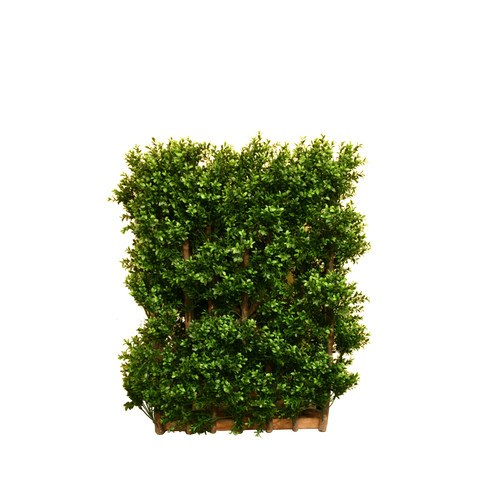 Artificial Topiary Trees, Hedge Topiary, PP4036DHG CT Double Side Box Center Hedge