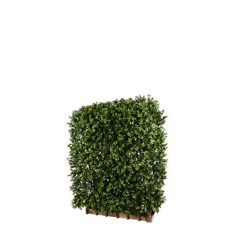 Artificial Topiary Trees, Hedge Topiary, PP4036DHG SD Double Side Boxwood Side Hedge