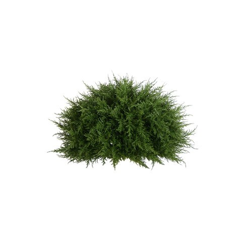 Artificial Topiary Trees, Ball Topiary, PP4037HB 20D Mini Cypress Half Ball