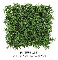 Artificial Topiary Trees, Topiary Wall, Tea Leaf Mat