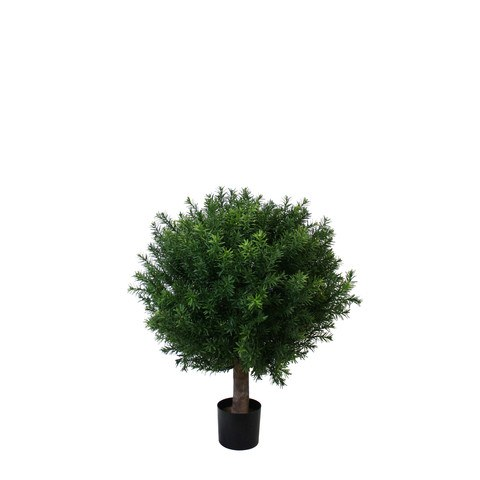 Artificial Topiary Trees, Ball Topiary, PP4042B 20 Tea Leaf Ball