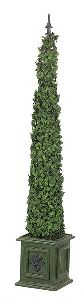Artificial Topiary Trees, Cone Topiary, 54 inch Cone Basil Ivy Topiary