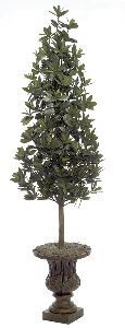Artificial Topiary Trees, Cone Topiary, 5.5 feet   Azalea Leaf Topiary