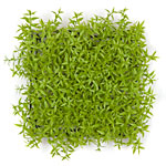 Light Green  10 x 10 x 3  Plastic Mini Leaf Mat